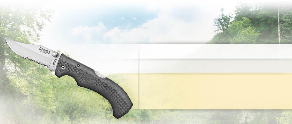 Easygrip Lock Back Knife Lansky Sharpeners