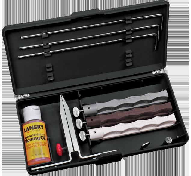 Natural Arkansas Knife Sharpening System | Lansky Sharpeners