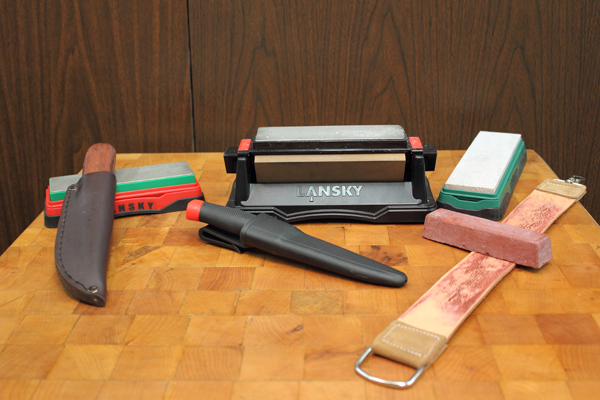 Lansky Sharpeners How To Sharpen With A Benchstone The