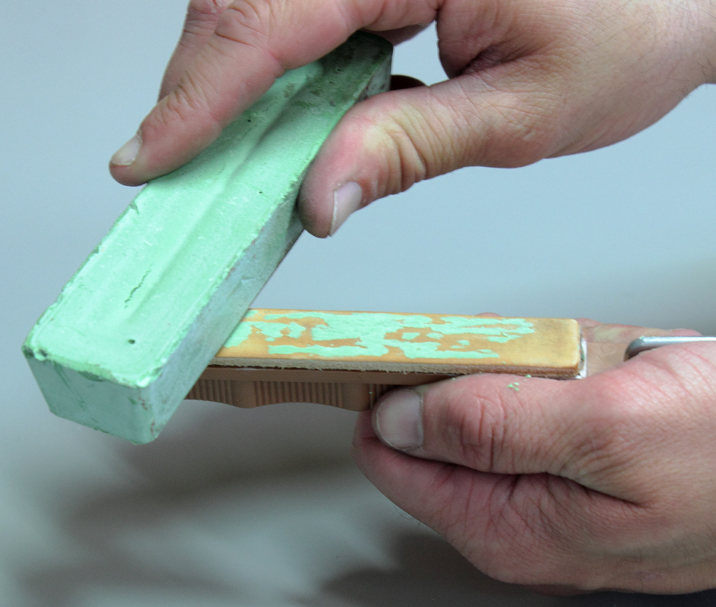 Lansky Leather Stropping Polishing Hone
